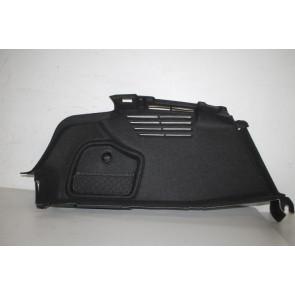 Bagageruimtebekleding links zwart Audi A4, S4 Sedan Bj 16-heden