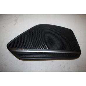 B&O luidsprekerrooster portier LV zwart Audi A4, S4, A5, S5 Sportback Bj 16-heden