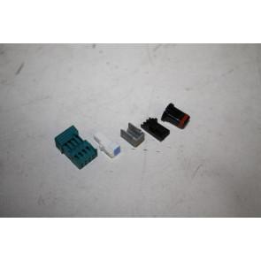 Set kleine onderdelen tbv spiegelglas bekabeling Audi A6, S6, RS6, A7, S7, RS7, A8, S8 Bj 18-heden