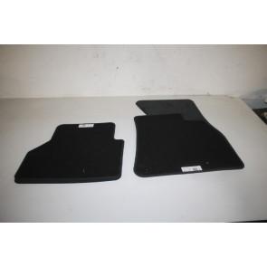 1 set vloermatten V+A zwart Audi A6, S6, RS6, A7, S7, RS7 Bj 19-heden