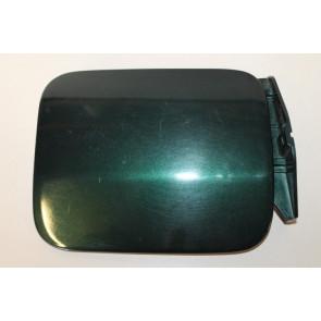 0555538 - 4D0809905B - Tank flap dark green metallic Audi A8, S8 Bj 94-03