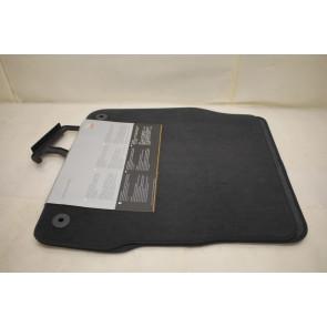 1 set vloermatten achterzijde zwart 4.2 V8 benz. Audi A6, S6 Bj 98-05