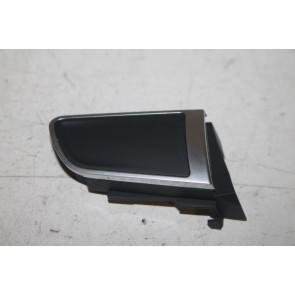 Afdekking stuurwiel rechts zwart/chroom div. Audi modellen Bj 08-16