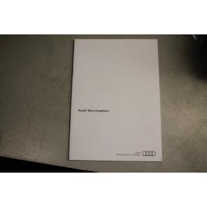 Audi serviceplan nederlandstalig alle Audi modellen