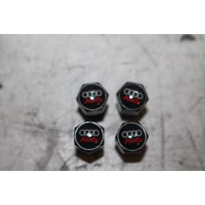 1 set ventieldoppen zwart div. Audi modellen Bj 97-heden
